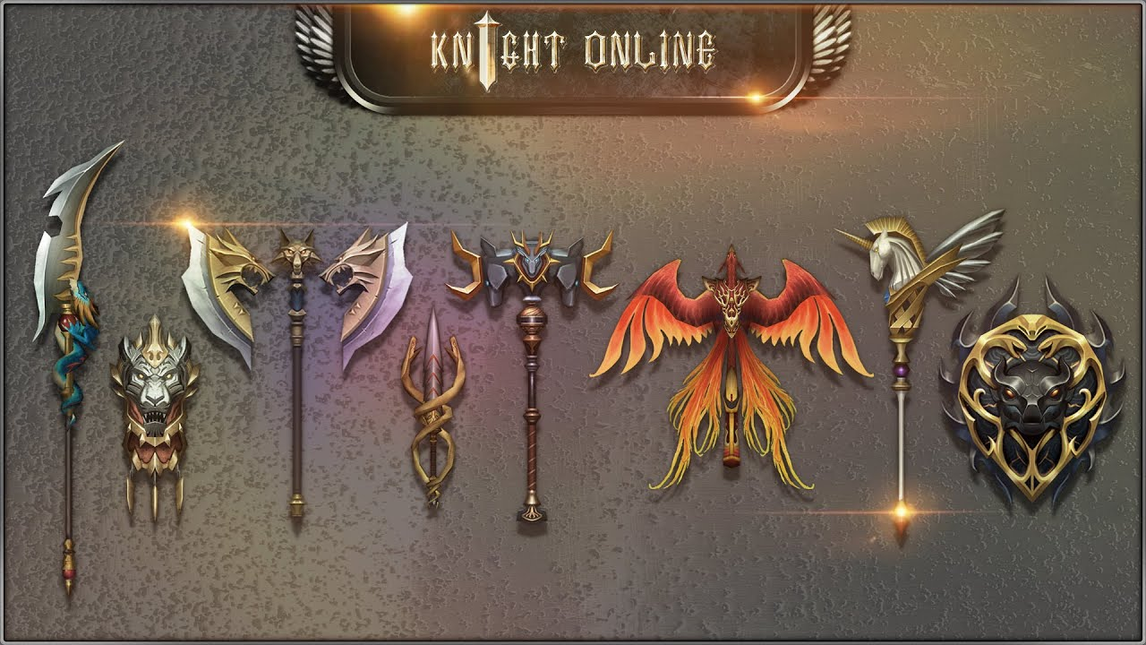 Knight Online Yeni Silahlar